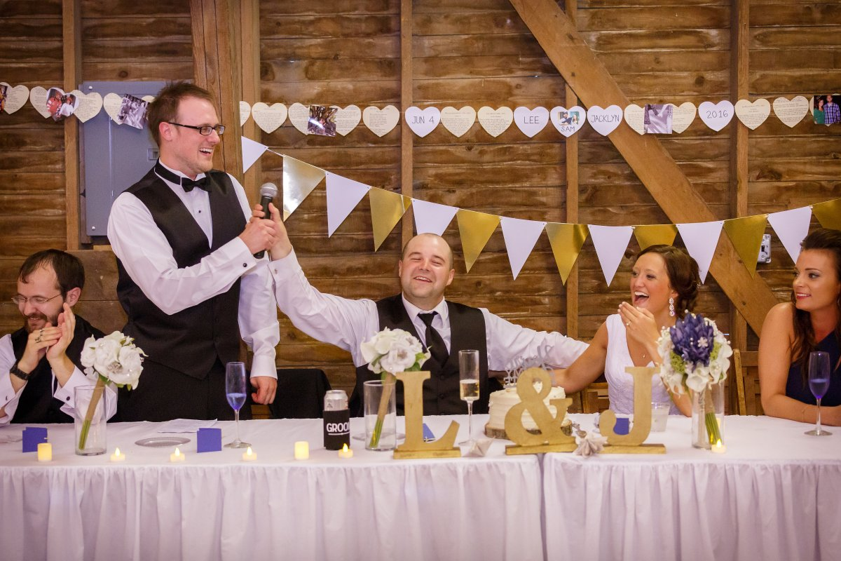 Eaton Rapids Wedding Photography - Millers Dairy Farm - Phil Black Photography
